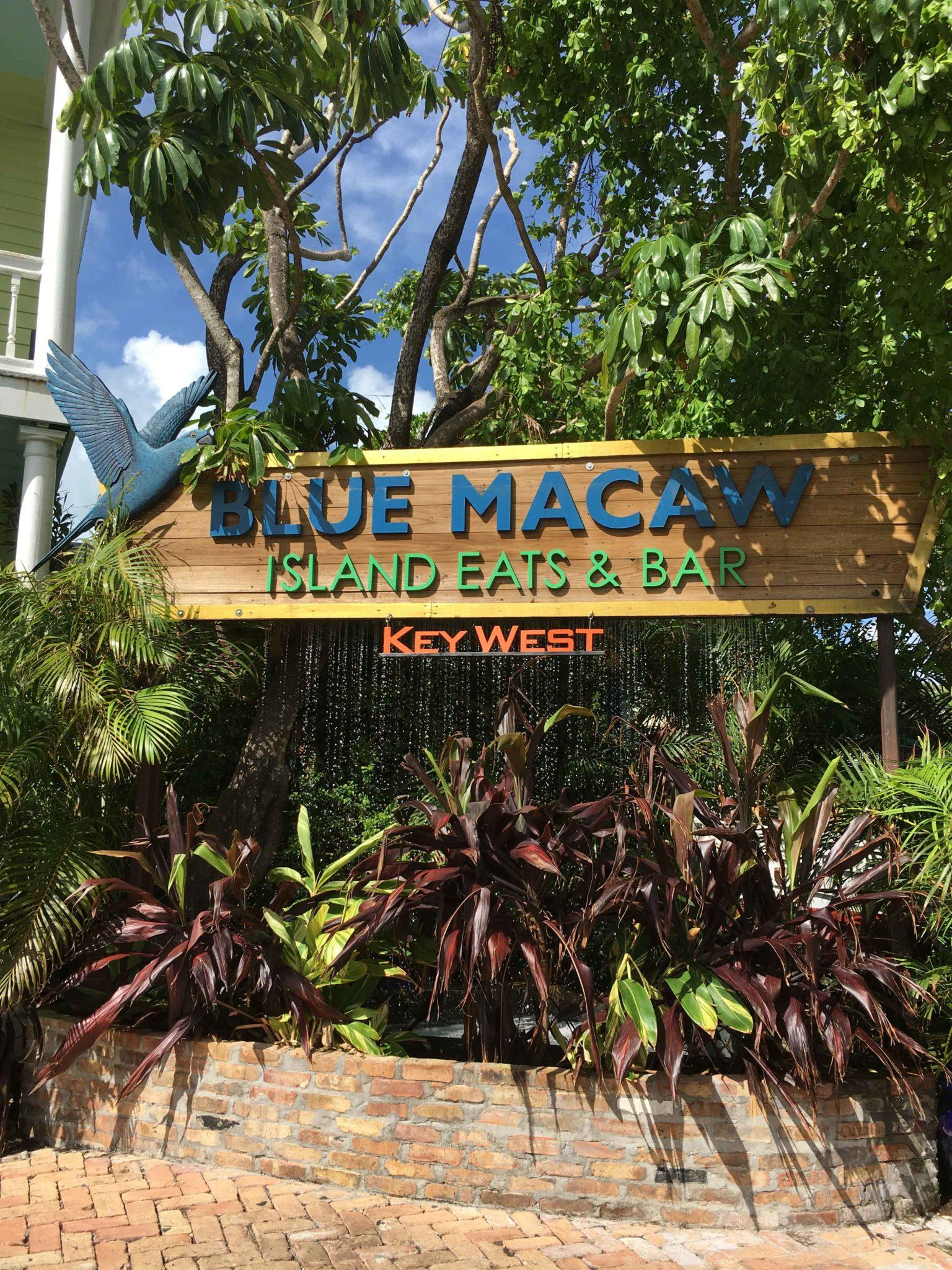 Blue Macaw Island Eats & Bar
